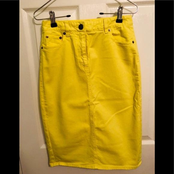 J. Crew Dresses & Skirts - 💥J CREW PENCIL JEANS SKIRT💥